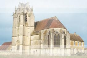 Prieuré de Sainte Gauburge à Saint Cyr la Rosière