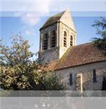 Eglise de Saint Céneri le Gérei dans l'Orne en Normandie