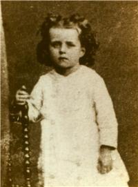 photo de Sainte Thérèse de Lisieux enfant