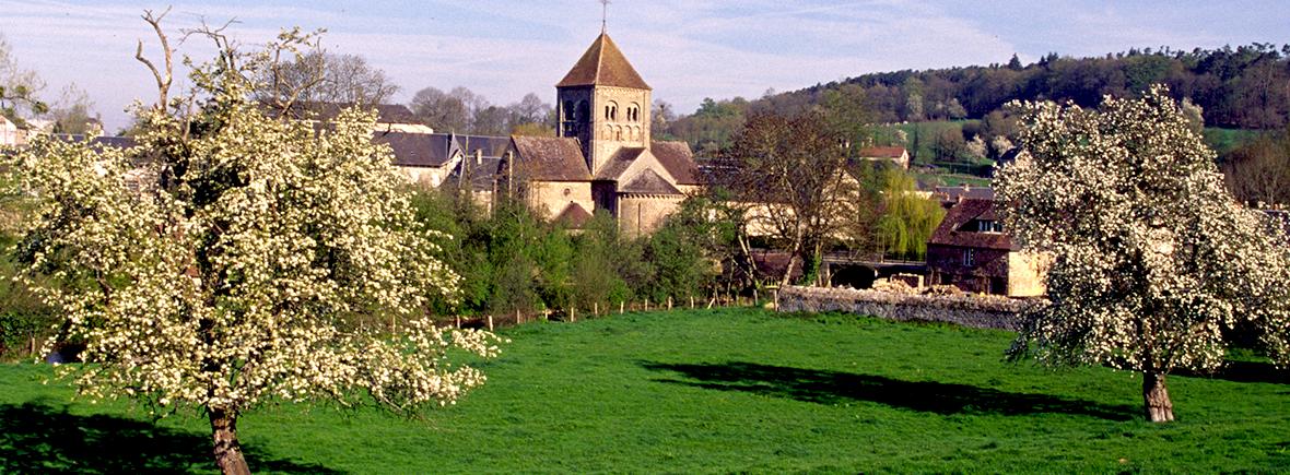 Eglise Notre Dame sur l'Eau à Domfront